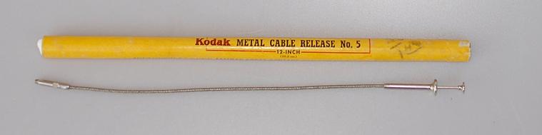 5 Kodak Cable Release No